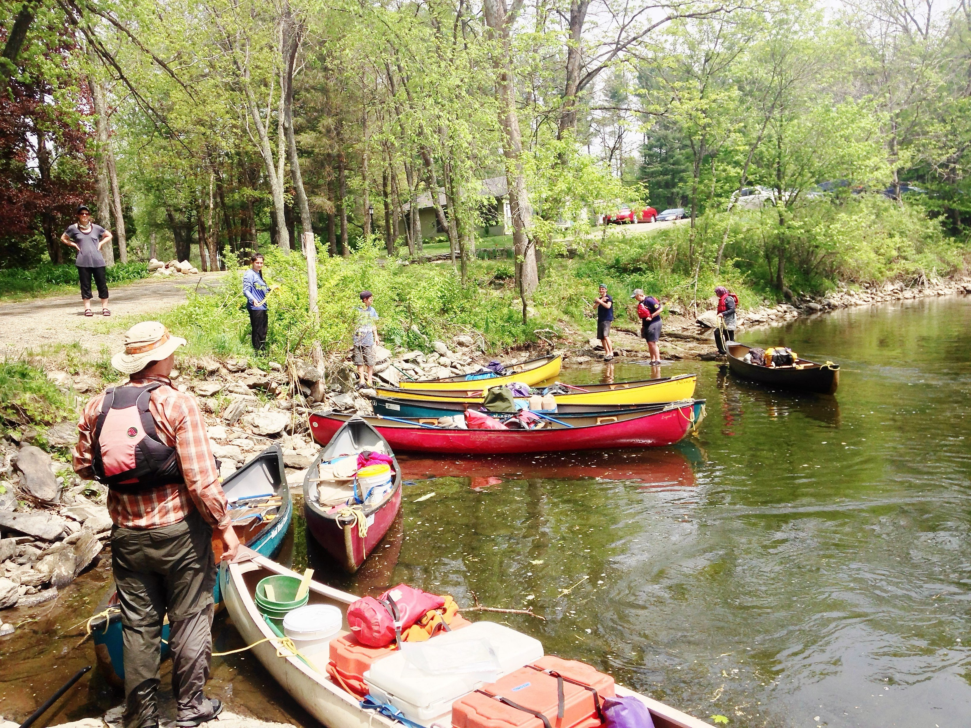 canoeing the battenkill