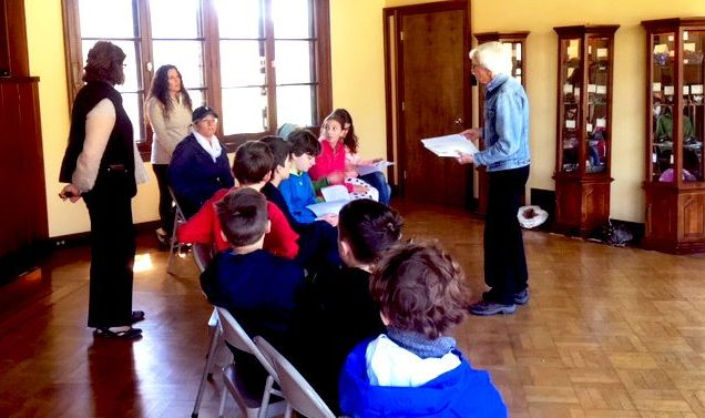 Bill Cotrofeld Waldorf School students