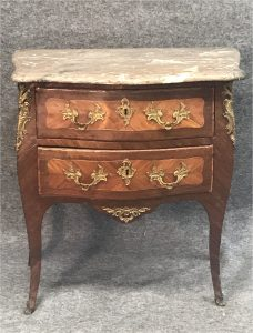 Auction Drawers w Marble top